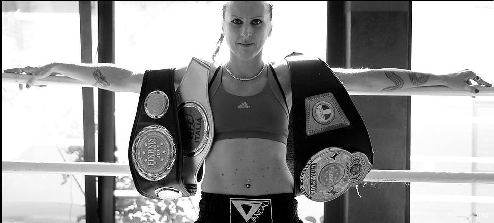 Patrizia Valkyrja Gibelli -campionesse kickboxing k-1