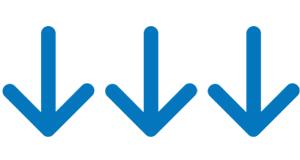 blu arrow-pointing-down2d