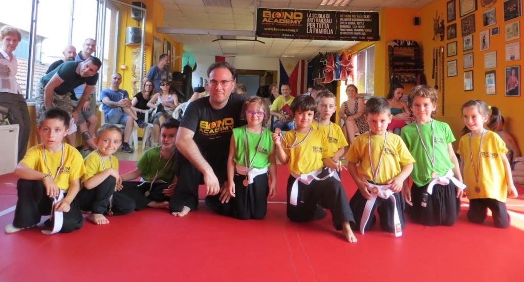 corso dei bambini - arti marziali sesto san giovanni